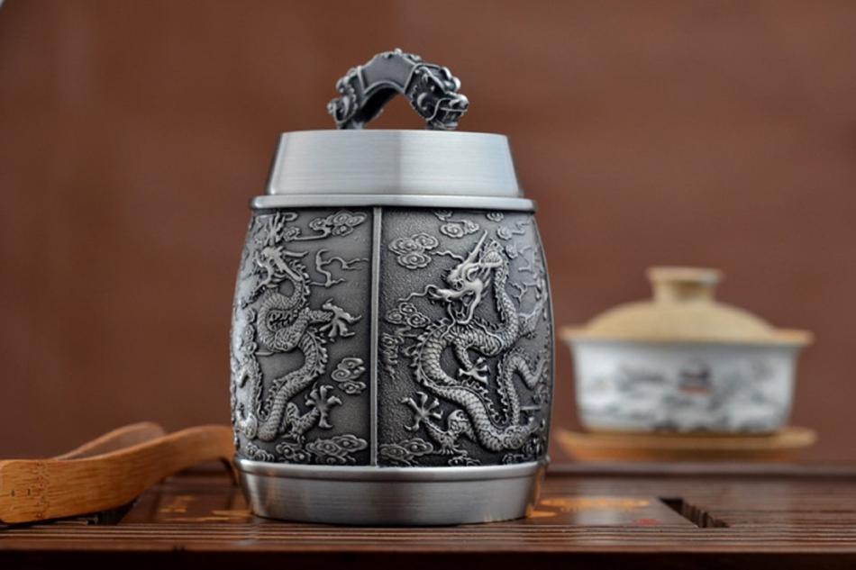 独具优势的锡器茶具艺术欣赏价值-茶礼仪网