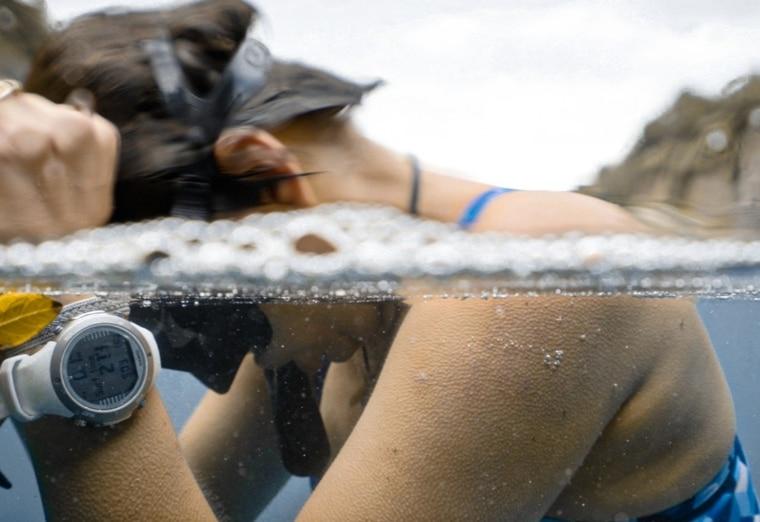 電影《烈愛生命之海》訴說深潛女性運動員的重生故事。台灣海洋文化影展提供