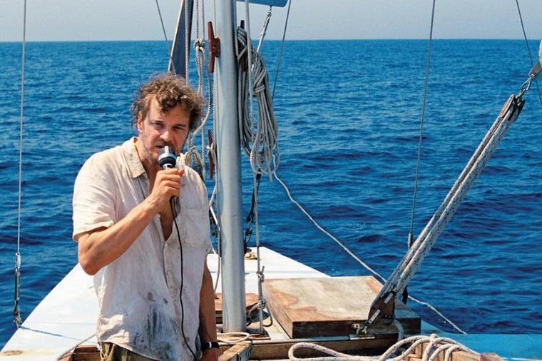《獨帆之聲》改編真實海上獨力航行故事。台灣海洋文化影展提供