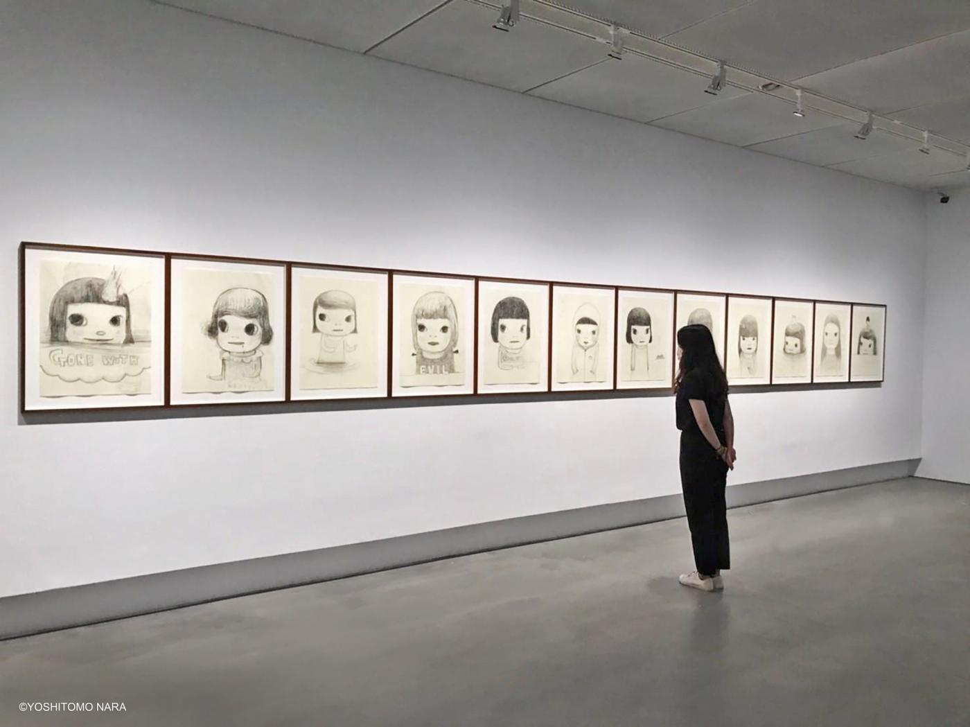 高美館《奈良美智特展》展場一景 © YOSHITOMO NARA